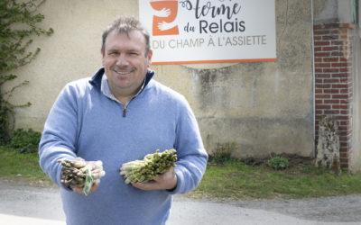 A Noailles, les hirondelles ne sont pas les seules à faire le printemps … Les asperges aussi !