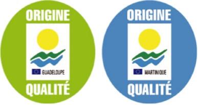 symbole identifiant les produits des Régions Ultra Périphériques de l'Europe